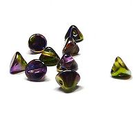 "Button Bead ""00030-95000"" Crystal Magic Orchid 4 mm, 50 st"
