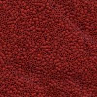 "Delica 11/0 ""DB796"" Opaque Maroon Matted Dyed 5 gr"