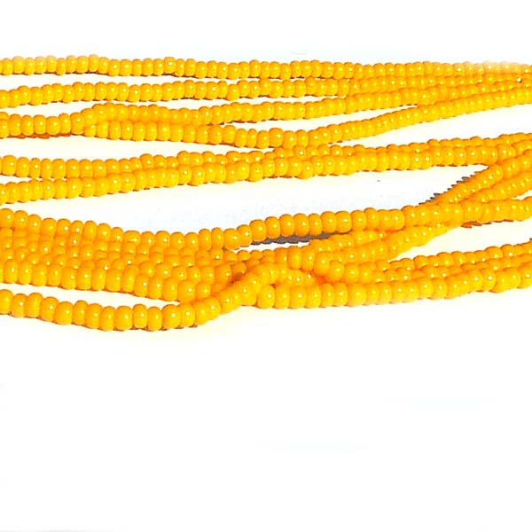"Tjeckisk seedbead 11/0 ""Light Orange 93110"""